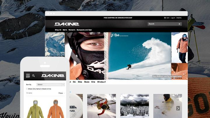 Responsive Website Conversion for Dakine Brings Drastic Increase in Holiday Sales